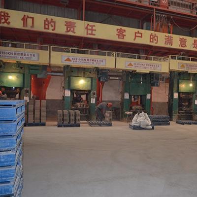 耐火材料生产发货现场