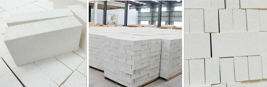 瑞道耐材生产莫来石轻质砖热导率低